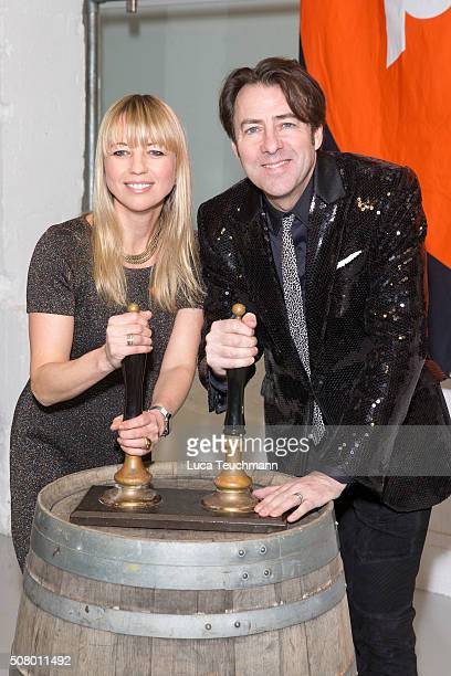 Sara Cox and Jonathan Ross attend for Centrepoint's annual Ultimate Pub Quiz on February 2 2016 in London England
