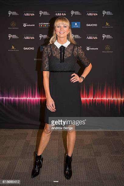 Sara Cox attends the Audio Radio Industry Awards at First Direct Arena Leeds on October 19 2016 in Leeds England