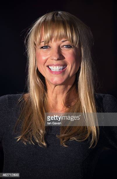 Sara Cox attends the Centrepoint Ultimate Pub Quiz at Village Underground on February 3 2015 in London England