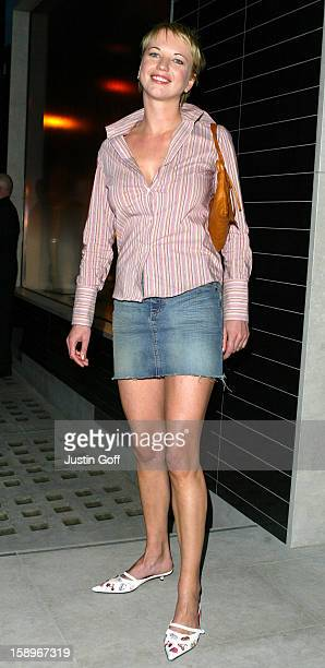 Sara Cox Attends The Launch Party For Stella Mccartney'S New Store In Central London.
