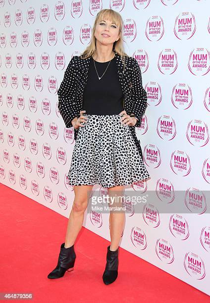 Sara Cox attends the Tesco Mum of the Year Awards at The Savoy Hotel on March 1 2015 in London England