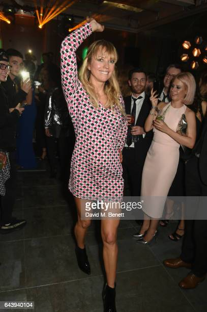 Sara Cox attends the Universal Music BRIT Awards AfterParty 2017 hosted by Soho House and BACARDI Rum at 180 The Strand on February 22 2017 in London...