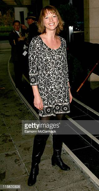 Sara Cox during Closer Young Heroes Awards Ceremony Arrivals at The Dorchester in London Great Britain