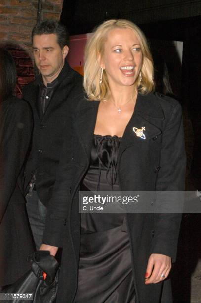 Sara Cox during Elle Style Awards 2005 After Party Arrivals in London Great Britain