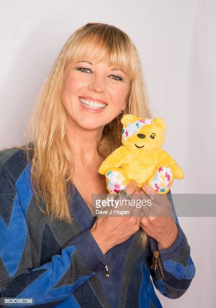 Sara Cox is pictured at BBC Children in Need Rocks the 80s at SSE Arena on October 19, 2017 in London, England.