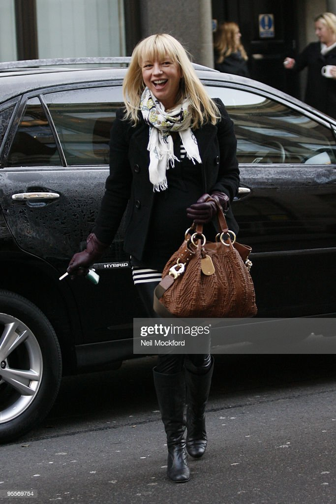 Sara Cox Sighting In London - January 04, 2010