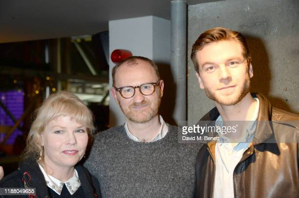 "Sara Crowe, Mark Gatiss and Wilf Scolding attend the BBC preview screening of ""Martin's Close"" at the BFI Southbank on December 11, 2019 in London,..."