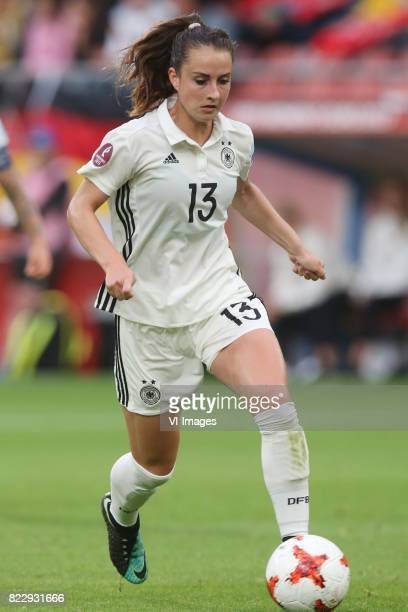 Sara Dabritz of Germany women during the UEFA WEURO 2017 Group B group stage match between Russia and Germany at the Galgenwaard Stadium on July 25...
