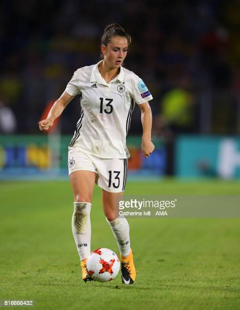 Sara Dabritz of Germany Women during the UEFA Women's Euro 2017 Group B match between Germany and Sweden at Rat Verlegh Stadion on July 17 2017 in...