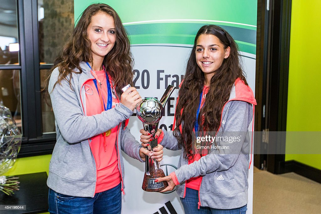 Germany U20 Women's Welcome Home Reception As World Champions