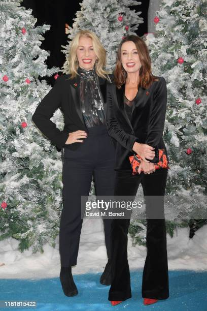 Sara Dallin and Keren Woodward attend the UK Premiere of Last Christmas at the BFI Southbank on November 11 2019 in London England