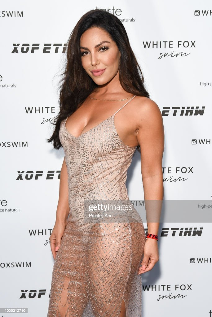 Sara Dastjani attends White Fox Boutique Swimwear Launch Of 100% Salty at Catch on July 26, 2018 in West Hollywood, California.
