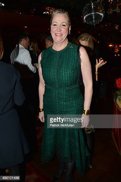 Sara Dodd attends George Farias Anne and Jay McInerney Host A Christmas Cheer Holiday Party 2016 at The Doubles Club on December 15 2016 in New York...