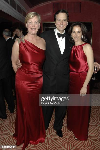 Sara Dodd, George Farias and Ann Wolf attend Alison Mazzolaís Birthday Party hosted by George Farias and Anne and Jay McInerney at Doubles on April...