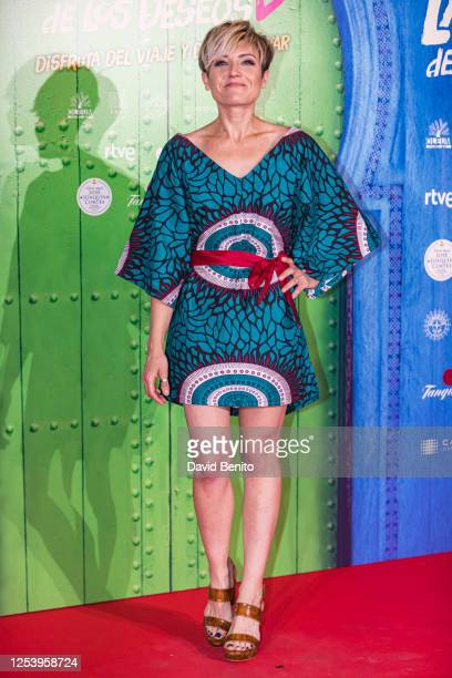 Sara Escudero attends 'La Lista de Los Deseos' Madrid Premiere photocall at Callao City Lights cinema on July 2 2020 in Madrid Spain This is the...