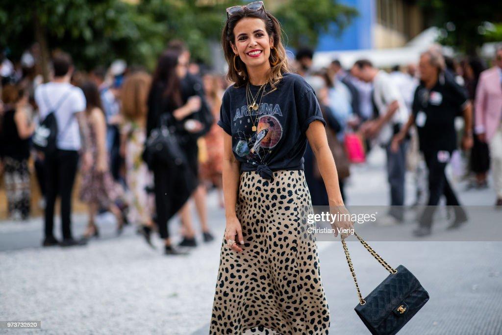 Street Style: June 13 - 94. Pitti Uomo : News Photo