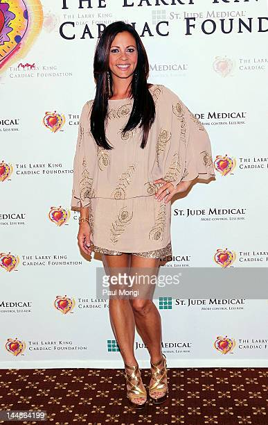 Sara Evans arrives at the 18th Annual Larry King Cardiac Foundation Gala at Ritz Carlton Hotel on May 19 2012 in Washington DC
