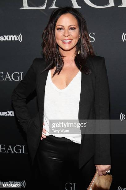 Sara Evans attends SiriusXM presents the Eagles in their first ever concert at the Grand Ole Opry House on October 29 2017 in Nashville Tennessee