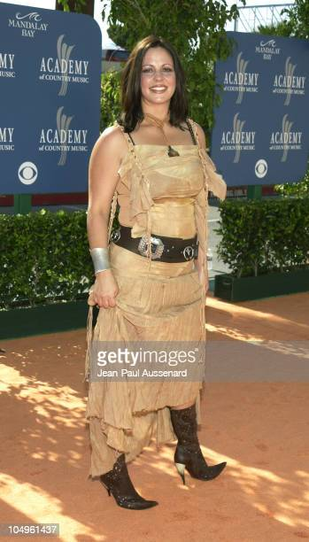 Sara Evans during 38th Annual Academy of Country Music Awards Arrivals at Mandalay Bay Event Center in Las Vegas Nevada United States