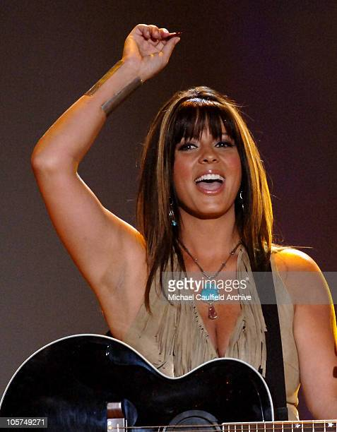 Sara Evans during 40th Annual Academy of Country Music Awards Show at Mandalay Bay Resort and Casino Events Center in Las Vegas Nevada United States