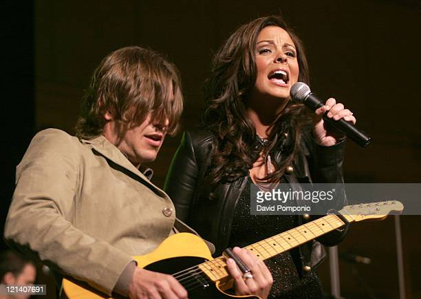 Sara Evans during Country Takes New York City Nashville Chamber of Commerce and NCVB Luncheon at Gotham Hall in New Yrok City New York United States