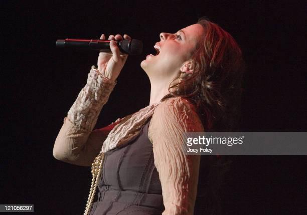 Sara Evans during Sara Evans in Concert at Murat Theatrre January 19 2007 at Murat Theatre in Indianapolis Indiana United States
