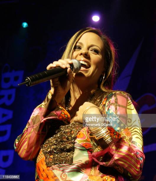 Sara Evans during Sara Evans in Concert at the Gibson Amphitheatre in Universal City October 1 2005 at Gibson Amphitheatre in Los Angeles California...