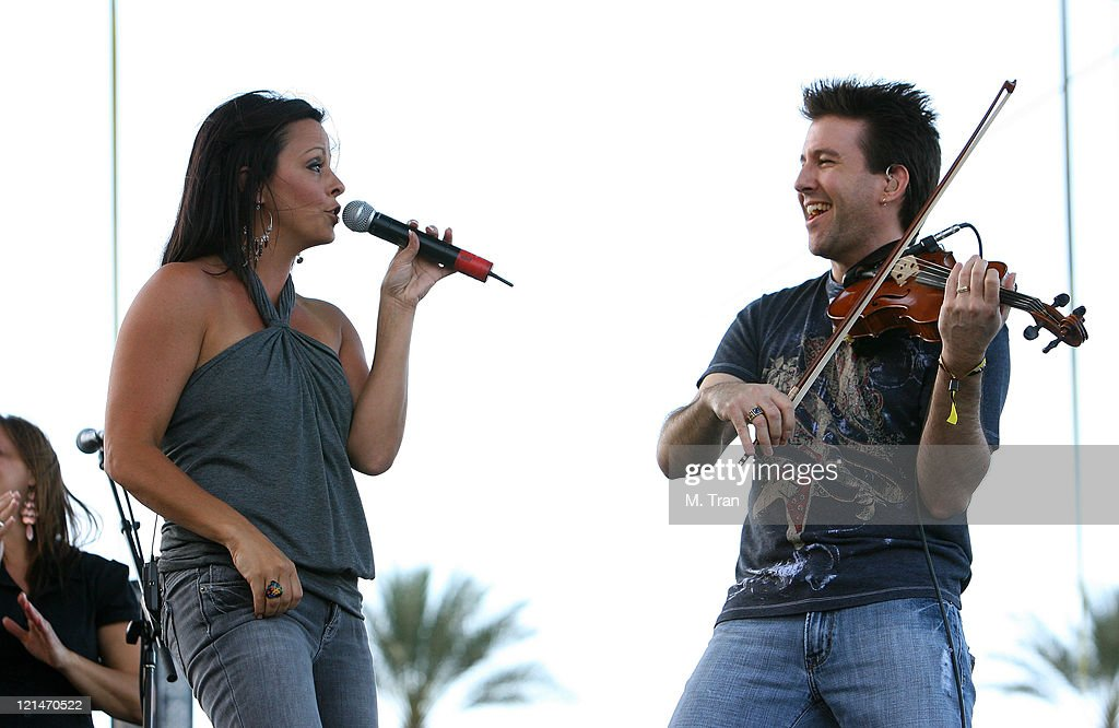 Sara Evans during The Inaugural Stagecoach Country Music Festival - Day 1 at Empire Polo Field in Indio, California, United States.