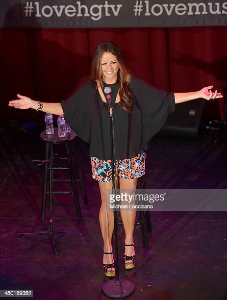Sara Evans performs at HGTVs The Lodge at CMA Music Fest 2014 on June 6 2014 in Nashville Tennessee