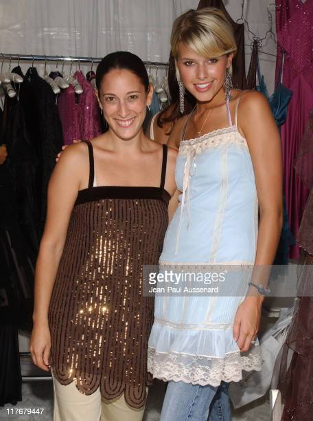 Sara Feinberg and Sarah Mason during Silver Spoon Hollywood Buffet Day Two at Private Estate in Los Angeles California United States Photo by...