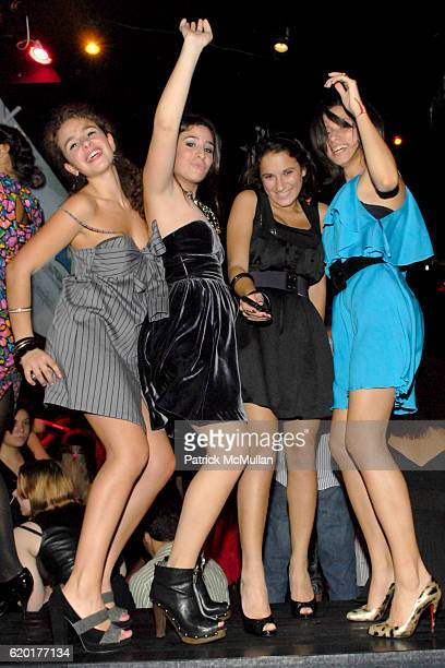 Sara Foresi Cara Greenspan Natalie Coppa and Remy Geller attend Party 4 a Cause at The Ultra on November 8 2008 in New York City