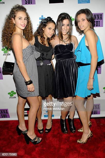 Sara Foresi, Guest, Cara Greenspan and Remy Geller attend Party 4 a Cause at The Ultra on November 8, 2008 in New York City.