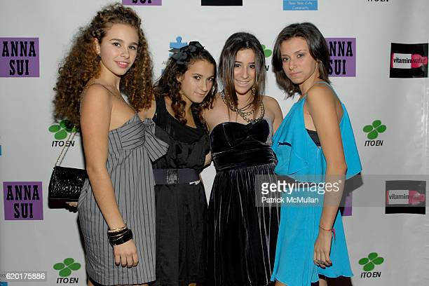 Sara Foresi Natalie Coppa Cara Greenspan and Remy Geller attend Party 4 a Cause at The Ultra on November 8 2008 in New York City