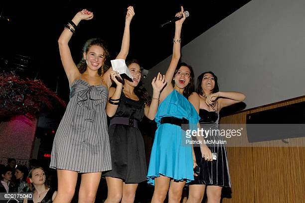 Sara Foresi Natalie Coppa Remy Geller and Cara Greenspan attend Party 4 a Cause at The Ultra on November 8 2008 in New York City