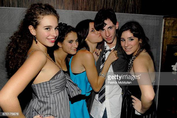 Sara Foresi, Guest, Remy Geller, Ian Geller and Cara Greenspan attend Party 4 a Cause at The Ultra on November 8, 2008 in New York City.