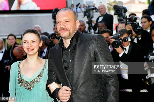 Sara Forestier and Samuel Le Bihan at the premiere of 'MarieAntoinette' during the 59th Cannes Film Festival