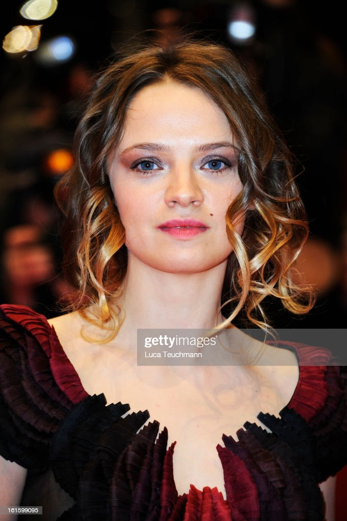 Sara Forestier attends the 'Camille Claudel 1915' Premiere during the 63rd Berlinale International Film Festival at Berlinale Palast on February 12, 2013 in Berlin, Germany.