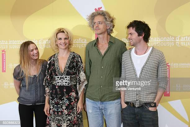 Sara Forestier Juliette Binoche Santiago Amigorena director and Tom Riley