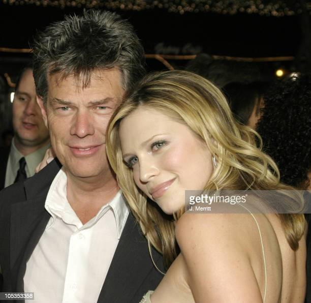 """Sara Foster and David Foster during """"The Big Bounce"""" World Premiere at Mann Village Theatre in Westwood, California, United States."""