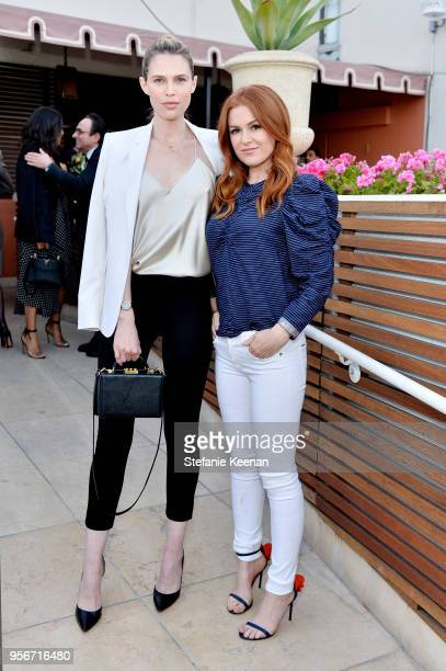 Sara Foster and Isla Fisher attend Aerin Lauder, Crystal Lourd and Jennifer Meyer Host a Dinner in Celebration of the AERIN SS18 Collection by...
