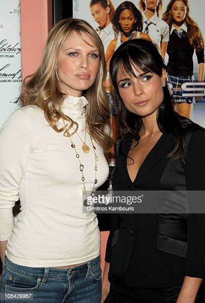Sara Foster and Jordana Brewster during DEBS New York City Premiere Arrivals in New York City New York United States