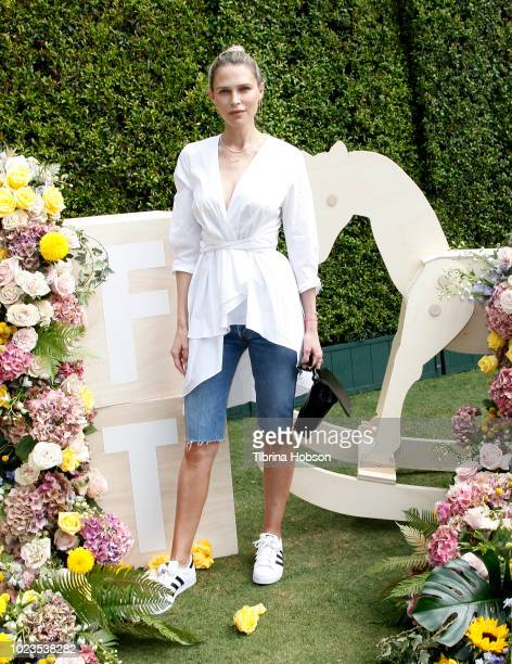 Sara Foster attends a BackToSchool block party at The Park at The Grove on August 25 2018 in Los Angeles California