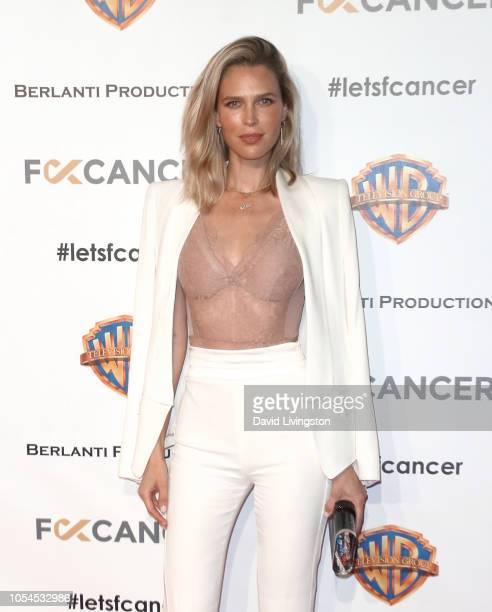 Sara Foster attends FCancer's 1st Annual Barbara Berlanti Heroes Gala at Warner Bros. Studios on October 13, 2018 in Burbank, California.