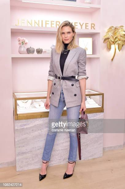 Sara Foster attends Jennifer Meyer Celebrates First Store Opening in Palisades Village At The Draycott With Gwyneth Paltrow And Rick Caruso on...