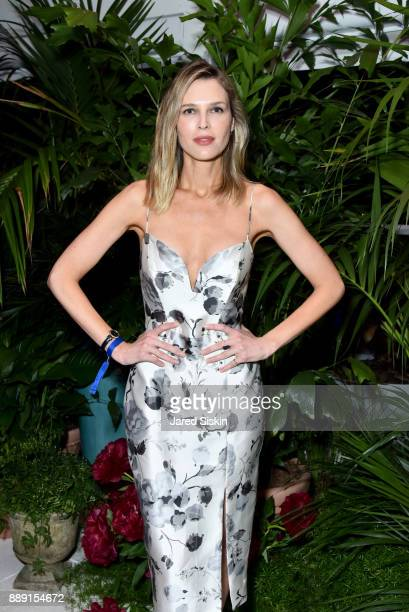 Sara Foster attends the Gucci X Artsy dinner at Faena Hotel on December 6 2017 in Miami Beach Florida