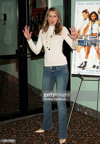 Sara Foster during 'DEBS' New York City Premiere Arrivals in New York City New York United States