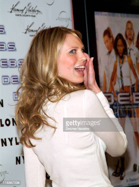 Sara Foster during 'DEBS' New York City Premiere at Chelsea's Clearview 9 in New York City New York United States