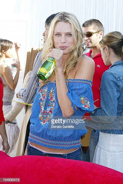 Sara Foster during Lola Cosmetics and Lucky Magazine Party in Los Angeles California United States