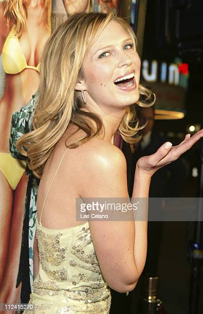 """Sara Foster during """"The Big Bounce"""" - Los Angeles Premiere - Red Carpet at Mann Village Westwood in Westwood, California, United States."""