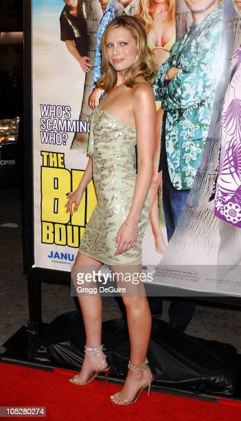 Sara Foster during The Big Bounce Premiere at Mann Village Theatre in Westwood California United States